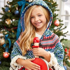 NWT Matilda Jane A Caroling We Go Sweater Poncho 6